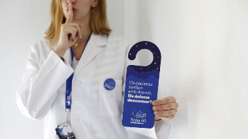 """""""Goodnight, Vall d'Hebron"""" improves night-time rest for patients"""