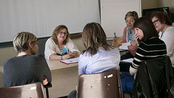 Sessió del programa Cuidador Expert de l'Hospital Vall d'Hebron.