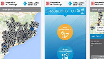 Localitza  els centres d'atenció continuada i d'urgències de l'ICS.