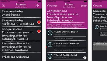 Aplicació mòbil per als alumnes i professors de titulacions oficials del VHIR.