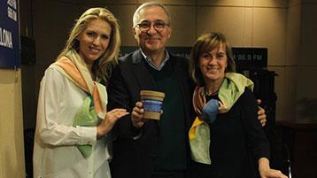 Judit Mascó, Gemma Nierga i  Xavier Sardà.
