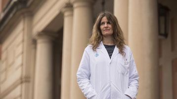 Irene Melsa, psicòloga de Vall d'Hebron