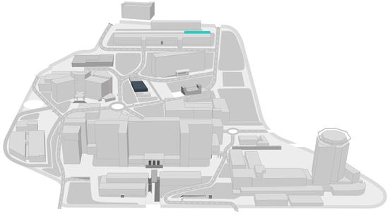 Mapa Centre d'Esclerosi Múltiple de Catalunya