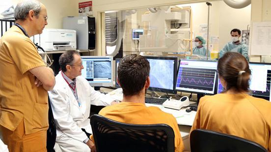 Cardiologia a Vall d'Hebron