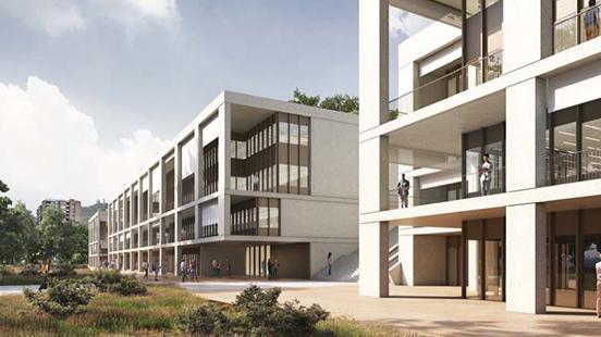 Nou edifici VHIR al Vall d'Hebron Barcelona Hospital Campus