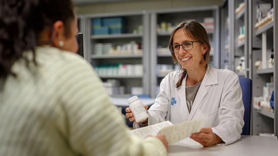 Farmàcia a Vall d'Hebron