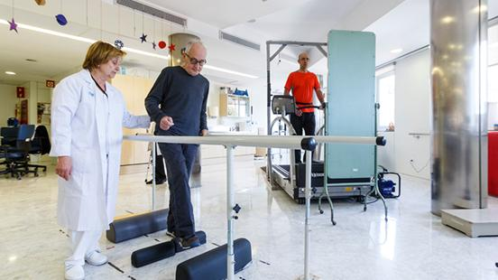 Medicina fisica i rehabilitació a Vall d'Hebron