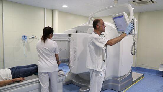 Medicina nuclear a Vall d'Hebron