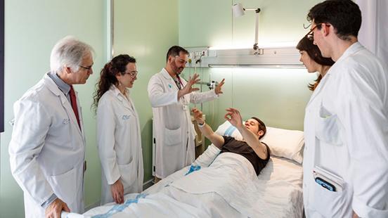 Neurologia a Vall d'Hebron