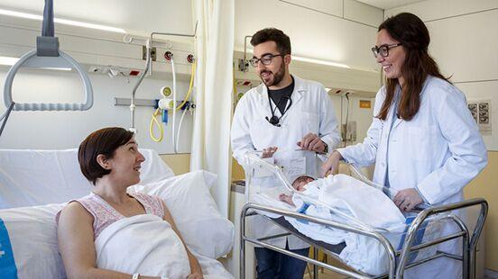 Obstetrícia i ginecologia a Vall d'Hebron