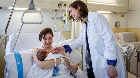 Obstetrícia a Vall d'Hebron
