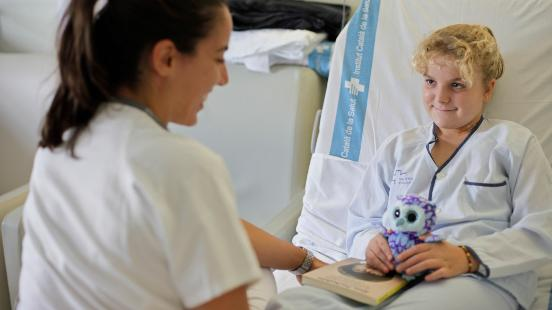 Oncologia pediàtrica a Vall d'Hebron