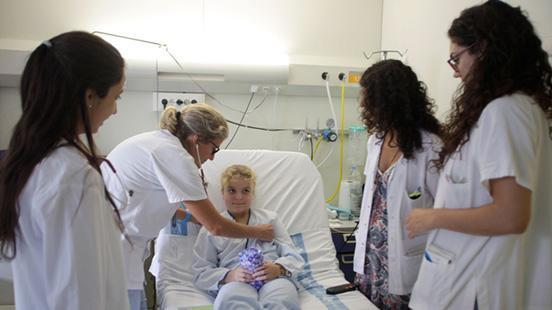 Pediatria a Vall d'Hebron