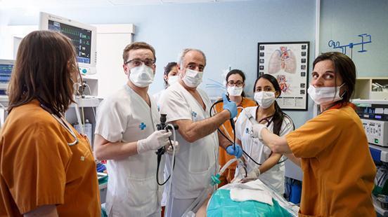 Pneumologia a Vall d'Hebron