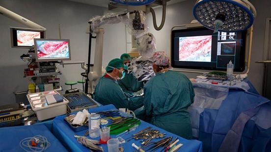 Bloc Quirúrgic a Vall d'Hebron