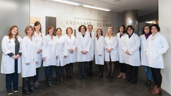 Grup de càncer de mama i melanoma a Vall d'Hebron