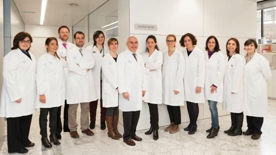 Grup de desenvolupament clínic precoç de fàrmacs a Vall d'Hebron