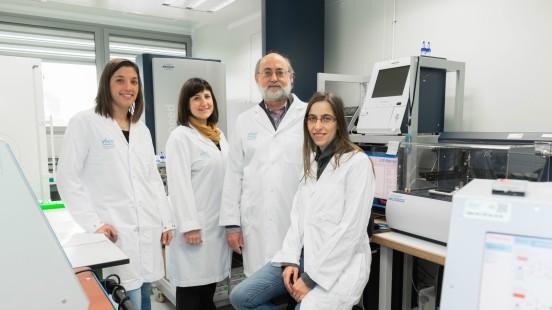 Grup de proteòmica a Vall d'Hebron
