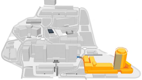 Mapa Hospital Maternoinfantil Vall d'Hebron
