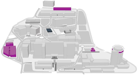 Mapa Vall d'Hebron Institut de Recerca
