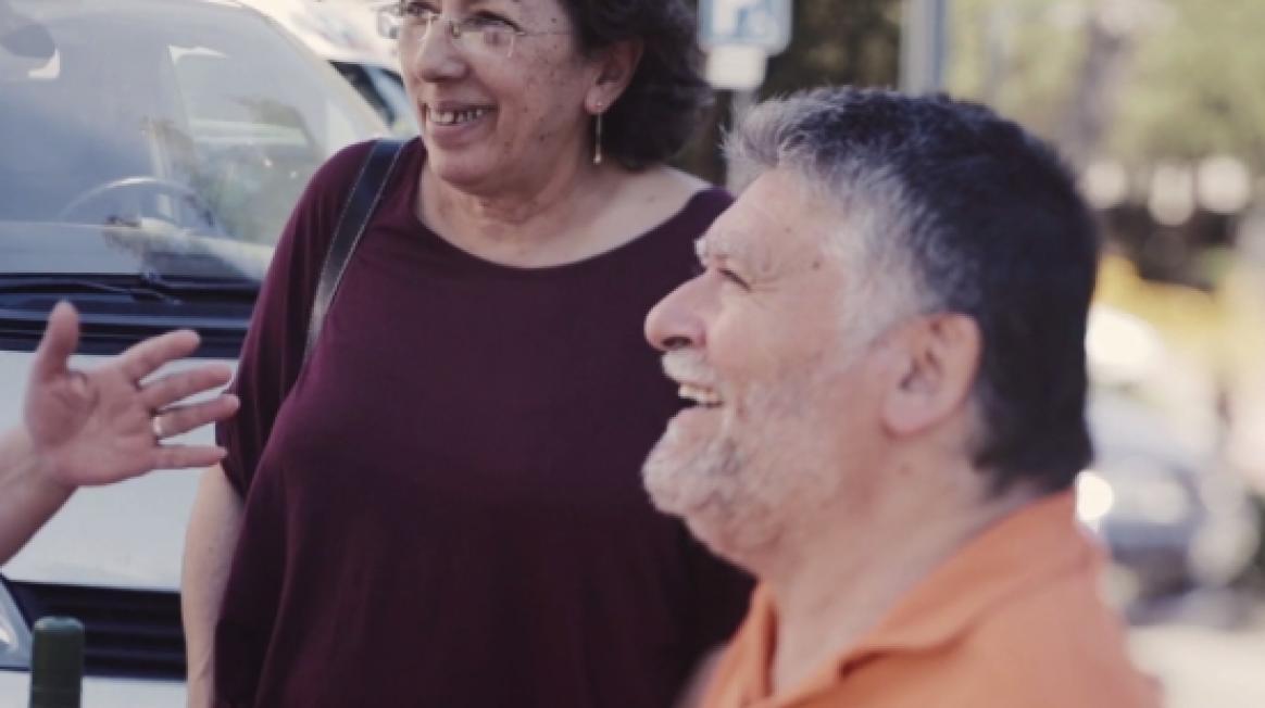 Andrés Hinarejos, pacient a Vall d'Hebron