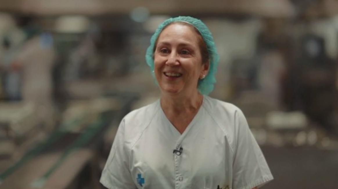Carmina Esteban, cap de cuina a Vall d'Hebron