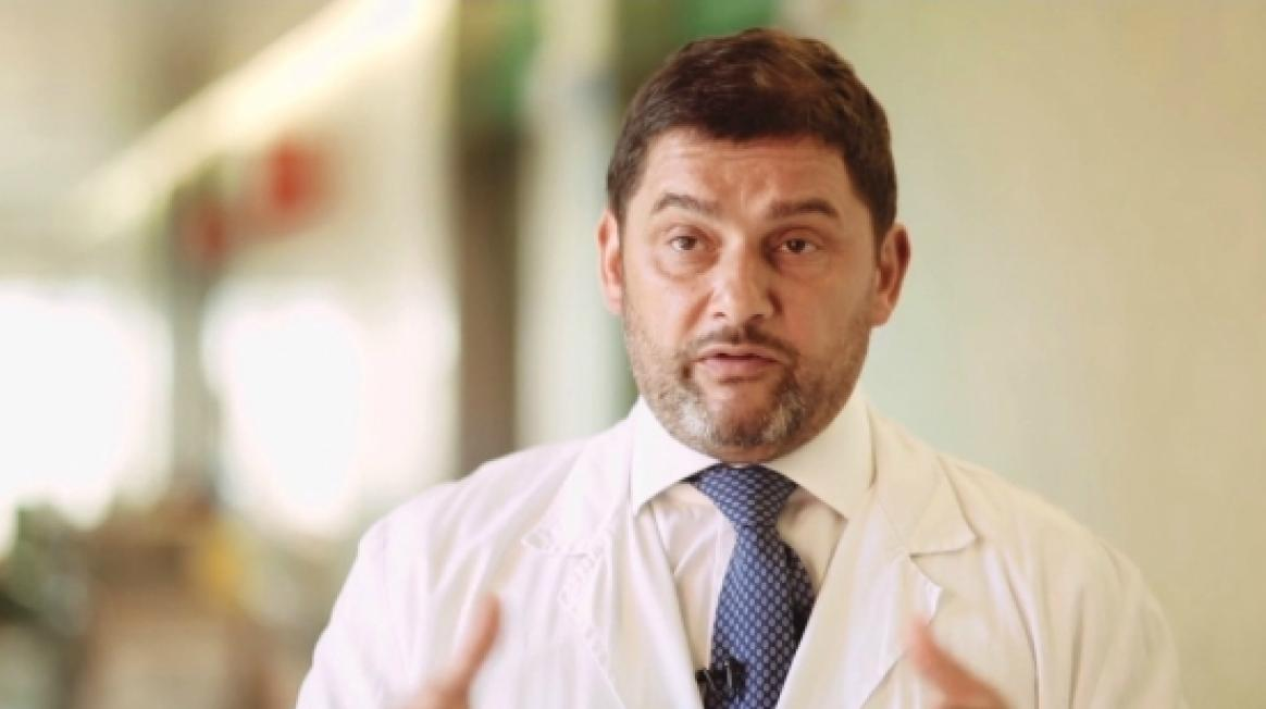 Francesc Bosch, cap del Servei d'Hematologia a Vall d'Hebron