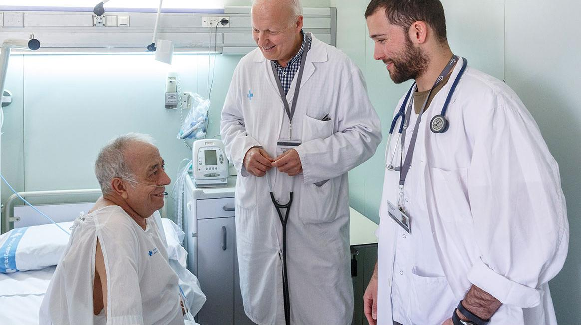 Assistència a l'Hospital General Vall d'Hebron