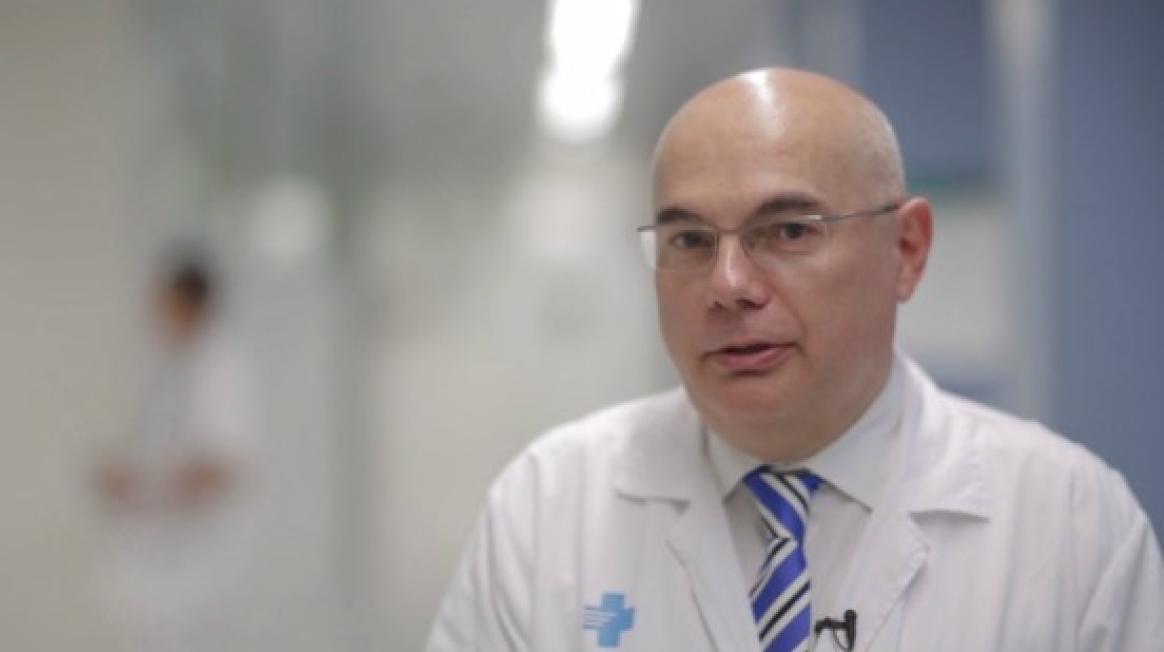 Josep Tabernero, cap del Servei d'Oncologia Mèdica a Vall d'Hebron
