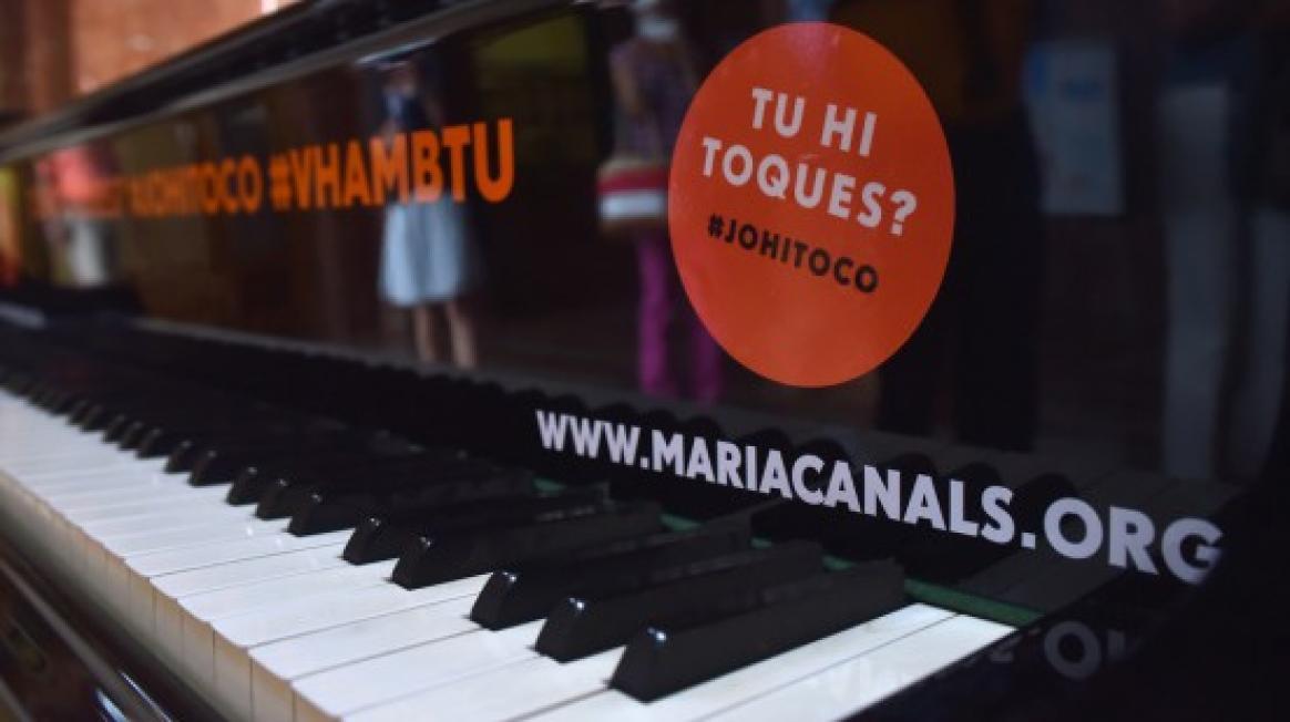 Vine a tocar el piano a Vall d'Hebron