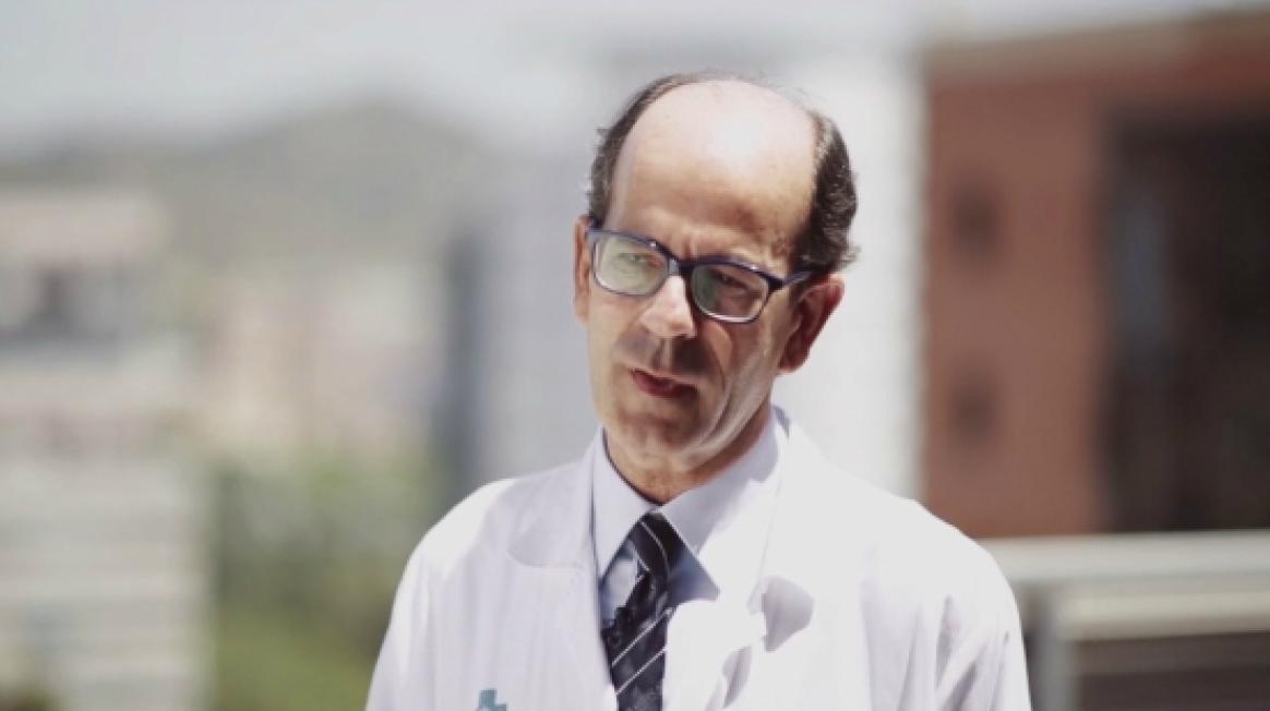 Ramon Charco, cap del Servei de Cirurgia Hepatobiliopancreàtica i Trasplantament a Vall d'Hebron