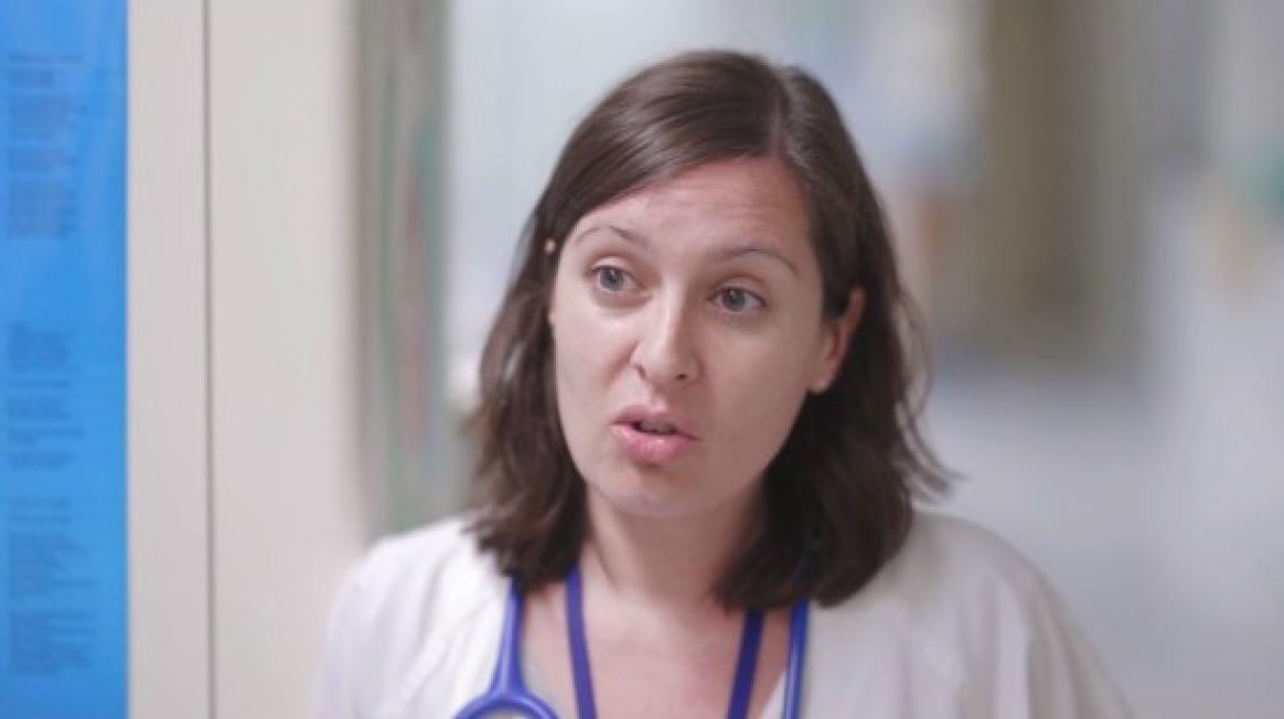 Rocío Rodrigo, metgessa adjunta d'Urgències Pediàtriques a Vall d'Hebron