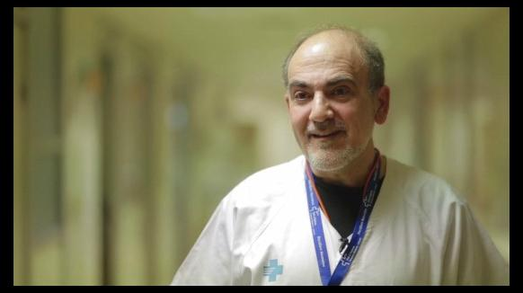 Fèlix Castillo, cap del Servei Neonatologia a Vall d'Hebron