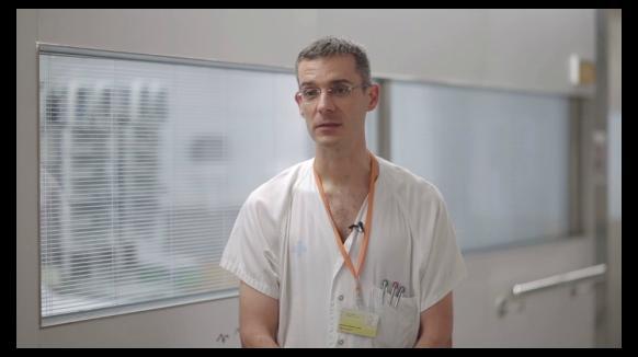 Joan Balcells, cap de la UCI Pediàtrica a Vall d'Hebron