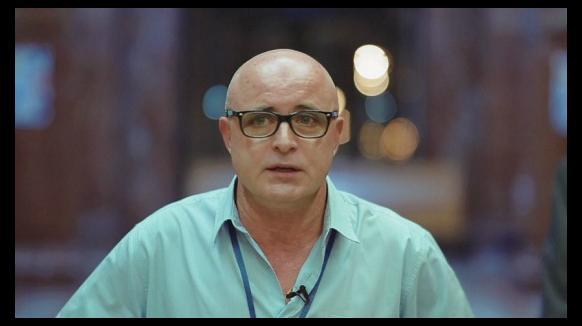 José Luis Rivas, zelador torn de nit a Vall d'Hebron