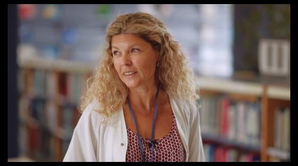 Montse Martínez, responsable de Gestió del Coneixement i Avaluació a Vall d'Hebron