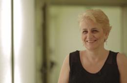 Joana Morillas, pacient intervinguda de càncer de mama a Vall d'Hebron