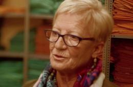 Rosalia Moure, va treballar durant 40 anys a llenceria a Vall d'Hebron
