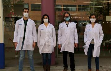 Antonio Astorga, Dra. María José Buzón, Dr. Víctor Puntes, Dra. Meritxell Genescà