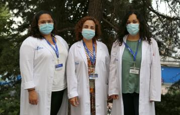 Dra. Alexandra Navarro, Dra. Marta Garrido, Dra. Jéssica Camacho