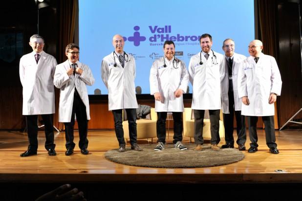 Acte de presentació Presentació del Vall d'Hebron Barcelona Hospital Campus el 17 de març de 2016.