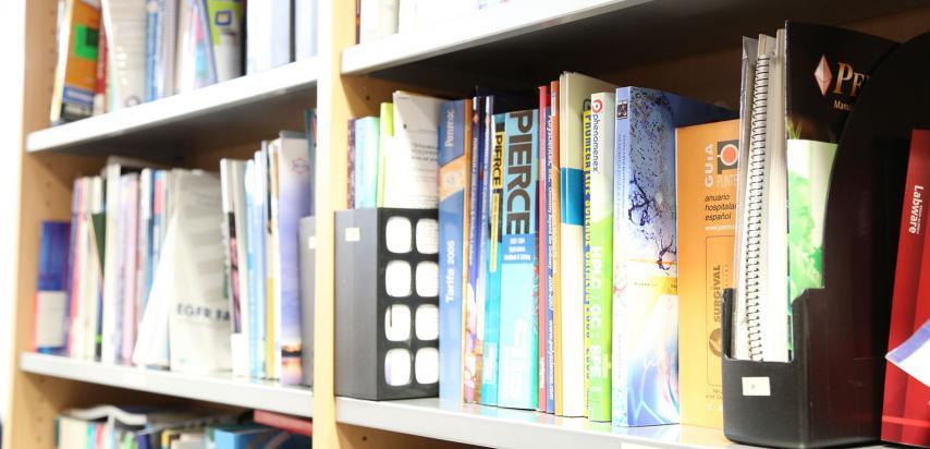 Revistes científiques a la Biblioteca del Vall d'Hebron Barcelona Hospital Campus.