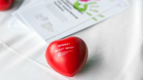 Per mitjà de l'Organització Catalana de Trasplantaments (OCATT) pots tramitar la donació d'òrgans i teixits.