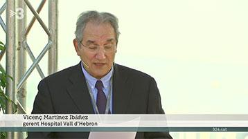 TV3 explica la reforma integral del campus hospitalari Vall d'Hebron